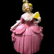 Large Mme. Pompadour Porcelain Dresser Doll, E & R Germany