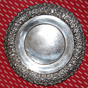 SALE Southington C Co Quadruple Silver Plate Wine Charger or Underplate