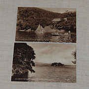 2 Early Photo Postcards Trinidad Raphael Tuck