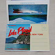 Vintage 1960 Lake Placid NY Souvenir Pack Postcards