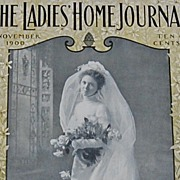 November 1900 Ladies Home Journal Magazine ~ Complete