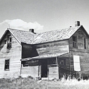 Scary Old House ~ Original 11 x 14 B/W Photograph