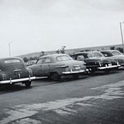 1953 Car Parking Lot at Pentagon B/W Photo