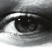 1974 Woman's Eye B/W Photograph