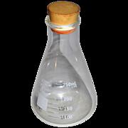 Vee Gee Glassco ~ Chemistry Bottle w/ Stopper