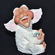 World of Krystonia ~ Poffles Dragon Figurine