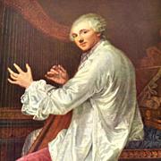 SALE Jean Baptiste Greuze ~ Monsieur De La Live De Jully Reproduction Art Print
