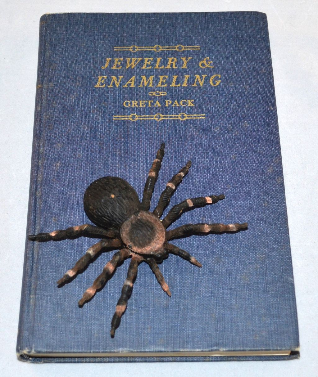 1953 Jewelry & Enameling Blue Cloth Hardcover Book