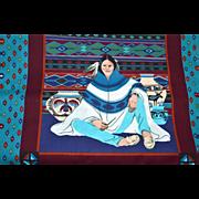Joan Messmore ~ Cranston Print Works ~ Native American Southwestern Style Fabric