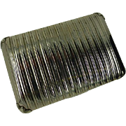 Sterling Silver Tobacco Snuff Box, Samuel Pemberton 1778- 1823
