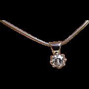 0.93 carat Diamond Pendent & Chain * * * * *