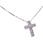 The Finest Diamond Cross  & Chain * * * * *