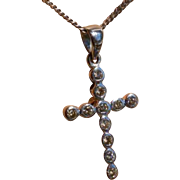 Diamond Cross & Chain * * * * *