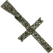 1/3 carat Diamond Cross * * * * *