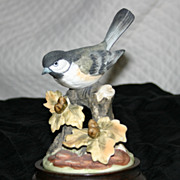 Bisque figurine by Gorham, The Gallery of Birds Collection
