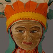 Norah Wellings American Indian Chief