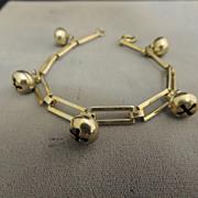Sterling Jingle bell bracelet