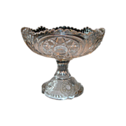 REDUCED Early 20th Century Pressed Glass Bowl