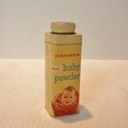 REDUCED Vintage Mennen Baby Powder Tin
