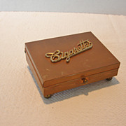 Vintage Copper Cigarette Box