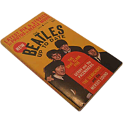 """The Beatles Up To Date"" Paperback Book, Circa 1964"