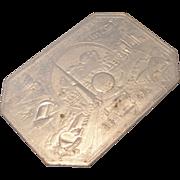 "SALE 1939 World's Fair ""The World of Tomorrow"" Hot Plate Mat"
