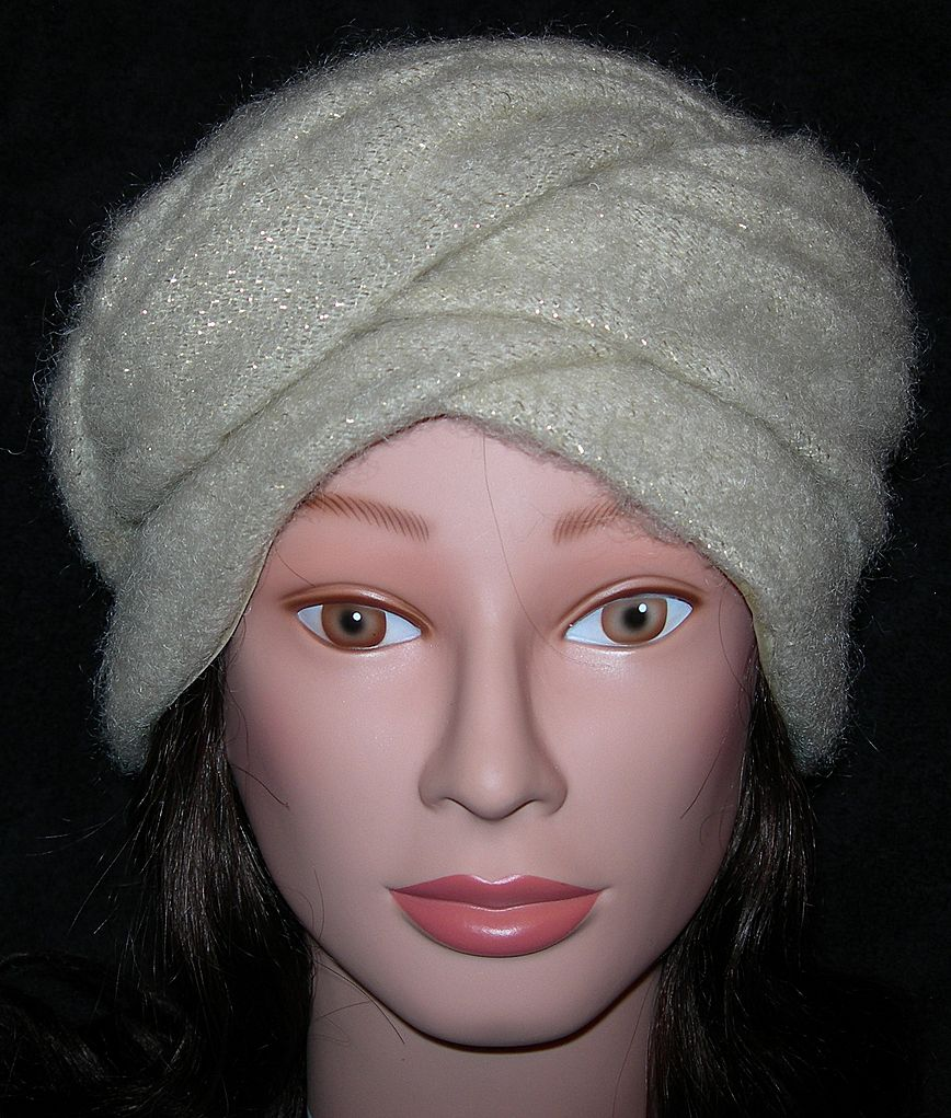 Wool Faux Turban