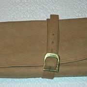 Vintage Leather Lederer Accessory travel carrier