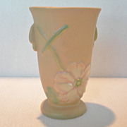 """Vintage Weller Vase """"Wild Rose"""""""