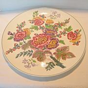 Large Vintage Wedgewood Floral Platter