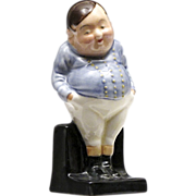 """Royal Doulton Figurine """"Fat Boy"""" - Dickens Series One 1932 - 1983 - Hand Painted"""
