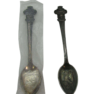 Pair of ROLEX collector spoons