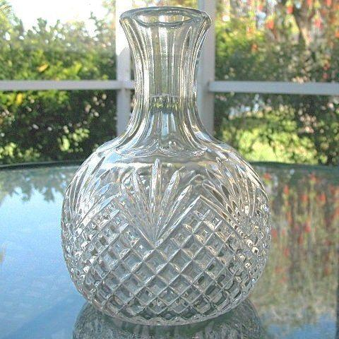 EAPG Water Jug Wine Carafe Diamonds and Fans