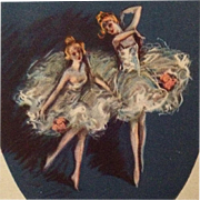 Zandrino- Two Lovely Ballerinas On Their Toes