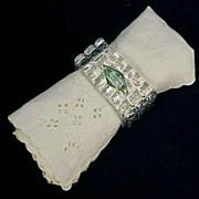 Vintage SHANNON CRYSTAL Napkin Rings 24% Lead Crystal - Poland