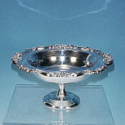 Vintage TOWLE SILVERPLATE Footed Compote Bowl