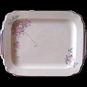 Vintage 1930's Homer Laughlin Wells Briar Rose Serving Platter