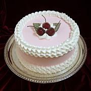 Silverplated Cake Pedestal