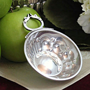 French 950 Silver Tastevin Ample Size Cupoles and Gadroons *Perfect Gift for Your Favorite Wine Collector!*