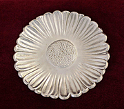 Sterling Tiffany and Company Flower Dish With Beautiful Dimensional Design