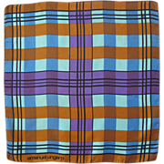 Emanuel Ungaro Paris Vintage Silk Scarf geometric colorful pattern