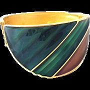 TRIFARI Enamel Cuff Bracelet