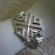 Vintage Sarah Coventry Silver Tone Bracelet