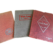 1926, 1927, and 1928 Year Books for Oak Hall Girls Preparatory School, St. Paul, Minnesota