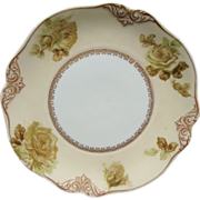 """Silesia Ohme Old Ivory 7 3/4"""" Plate #84 Mint Condition"""