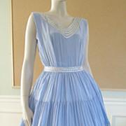 1950's Cocktail Garden Party Dress Rockabilly Swing