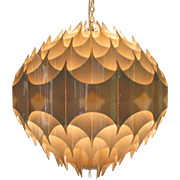 Rythmic Ceiling Lamp Havlova Milanda Vest Austria Mid Century Modern