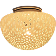 Vetri Murano Glass Leucos Ceiling Wall Lamp Mid Century Modern Dot Light Fixture Toso Italy