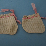 Antique Baby Doll Booties