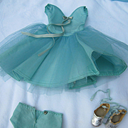 Vintage Mary Hoyer Doll Tagged Ballerina Outfit